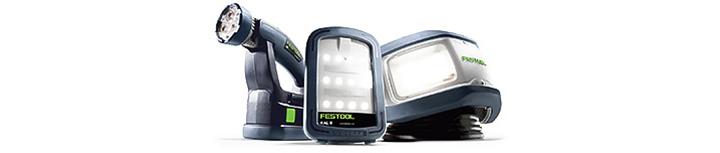 Дмитрий Довженко представляет Festool - осветительное оборудование — лампы, прожекторы, фонари для мастерской и стройплощадки