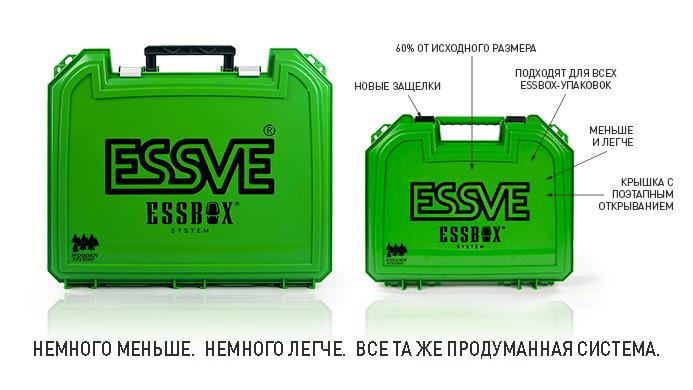 Новые кейсы (чемоданы) ESSBOX, для хранения крепежа ESSVE