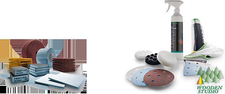Абразивные материалы Festool для механической и ручной шлифовки, шлифовальные круги, ленты, флисы. Абразивы для древесины, искусственного камня, лаков и красок. Полировальные пасты и защитный воск, наждачная бумага