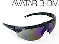 Очки защитные Honeywell AVATAR Black/Blue mirror lens